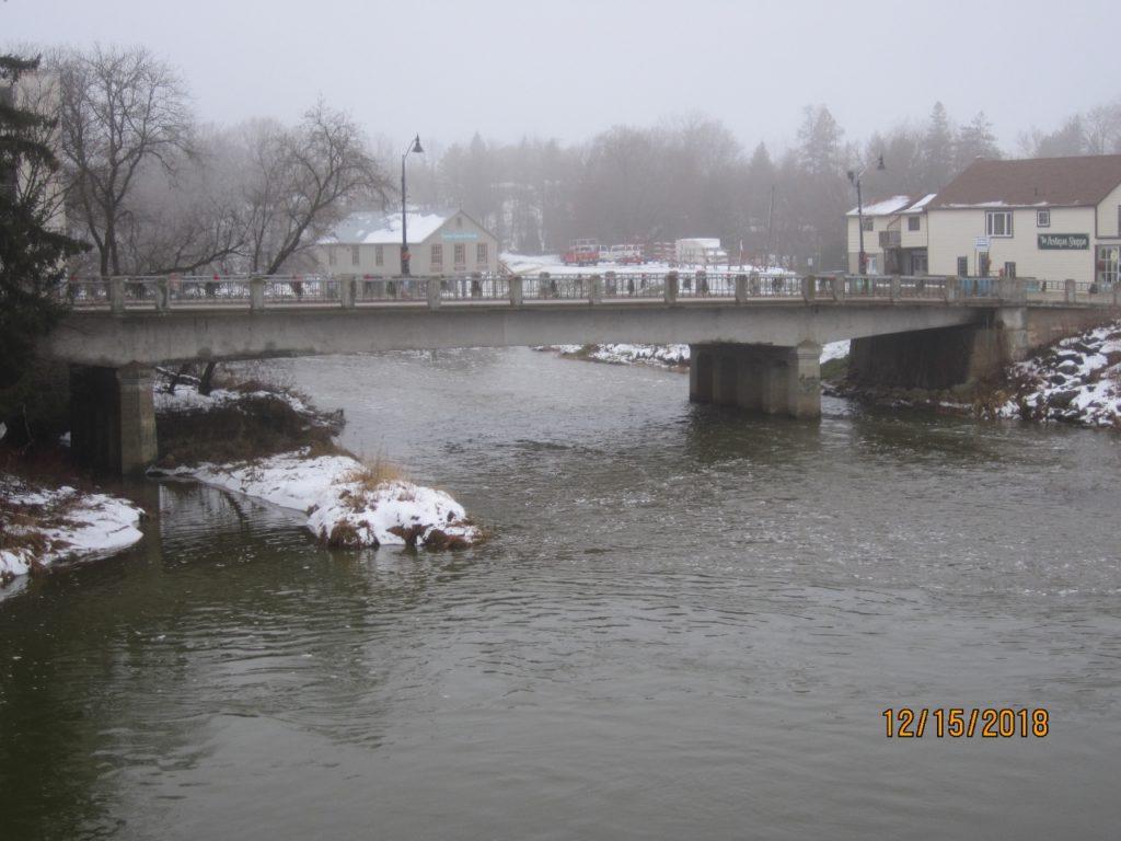 Teeswater River Bridge east elevation photo